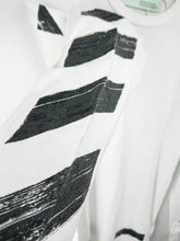 Off White Diagonal Brushed Long Sleeve Tee