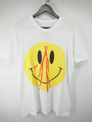 Vlone White Smiley Tee
