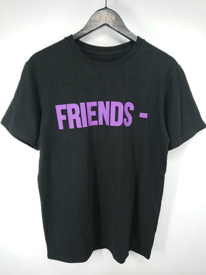 Vlone Friends Tee (Black/Purple)