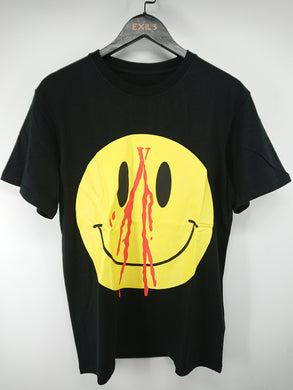 Vlone Black Smiley Tee