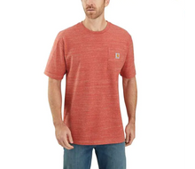 Carhartt Workwear Pocket Tee - Cayenne Snow Heather