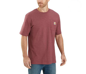Carhartt Workwear Pocket Tee - Iron Ore Heather