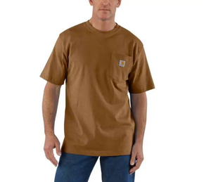 Carhartt Workwear Pocket Tee - Oiled Walnut Heather