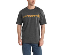 Carhartt Logo Tee - Carbon Heather