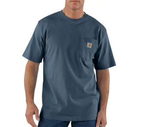 Carhartt Workwear Pocket Tee - Bluestone
