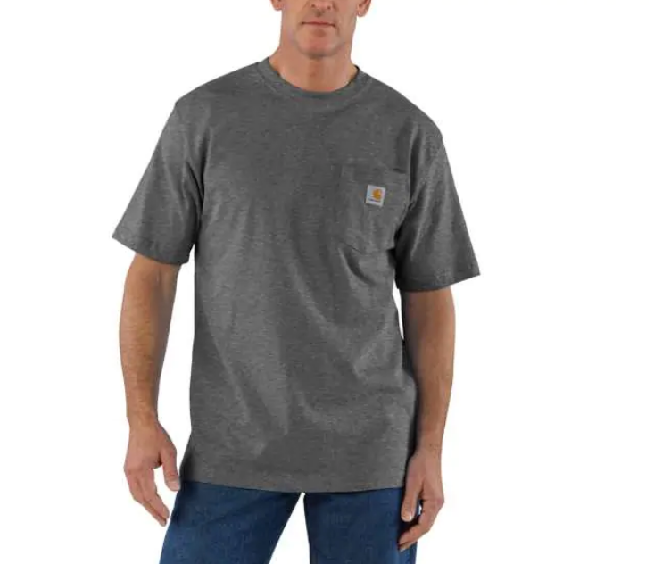 Carhartt Workwear Pocket Tee - Carbon Heather