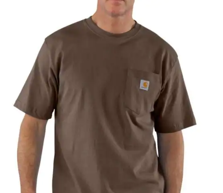 Carhartt Workwear Pocket Tee - Dark Brown