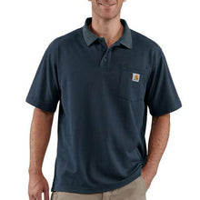Carhartt Work Pocket Polo Tee - Navy