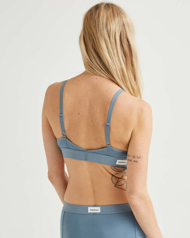 Classic Bralette in Blue Mirage - The Edition Shop