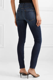 Le Skinny De Jeanne Raw Edge in Remi - The Edition Shop