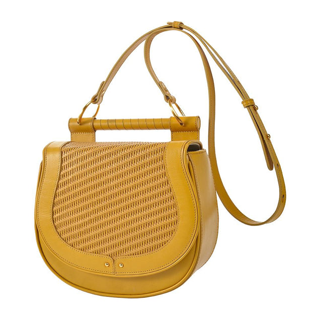 The Babylon Weaving Bag in Honey