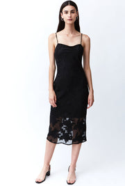 Moon Flower Slip Dress