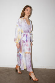 Sarah Dress in Aquarelle