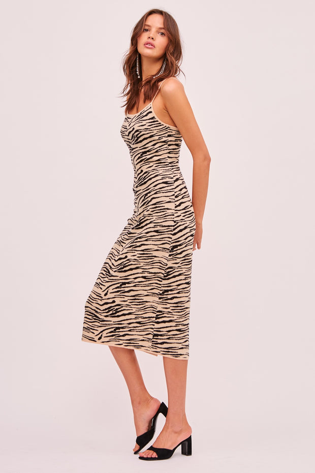 Tiger Knit Dress