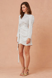 Foolish Long Sleeve Mini Dress