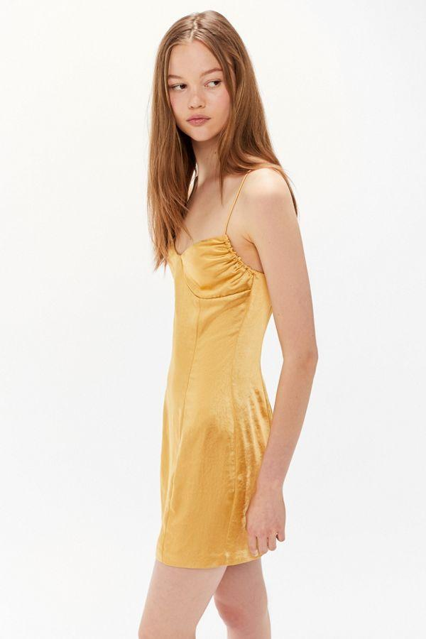 Final Say Mini Dress in Canary - The Edition Shop