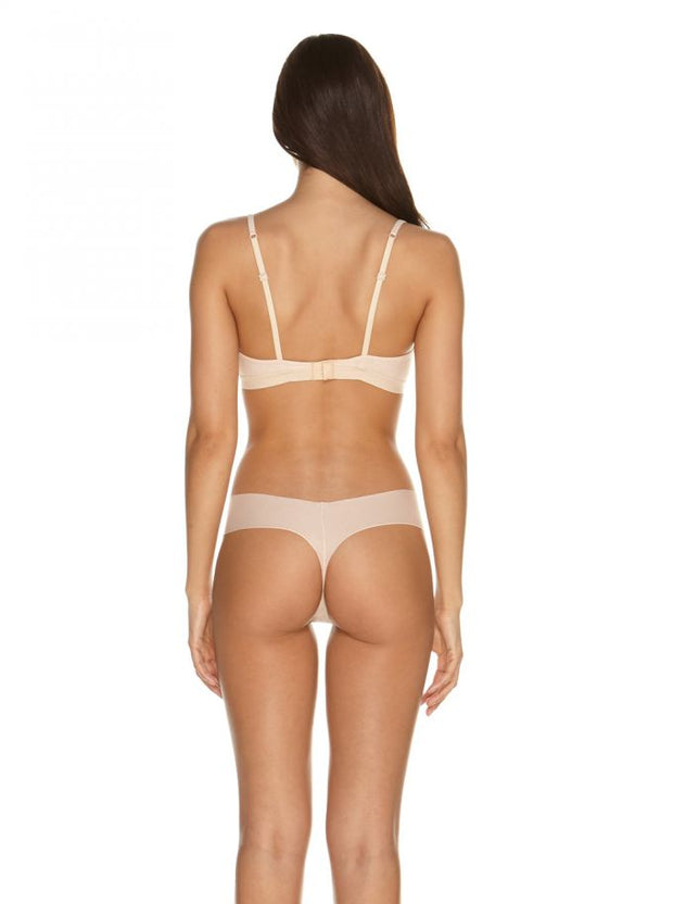 Aire LowRider Thong in Nude Rose