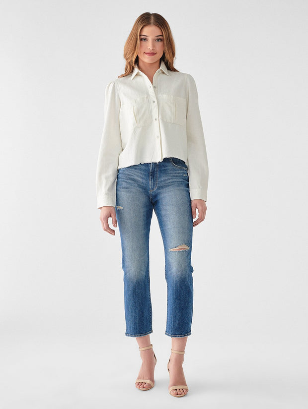 Simone Cropped SHirt