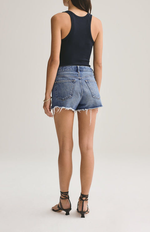 Parker Vintage Cut-Off Short in Lowkey - The Edition Shop