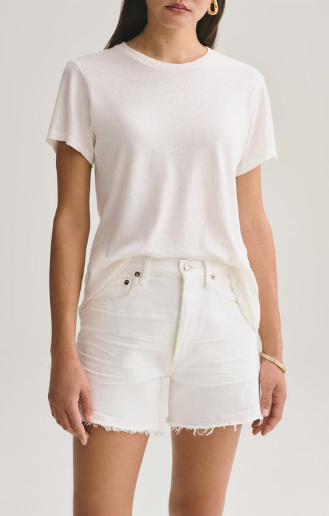 Mariam Classic Fit Tee in Tissue
