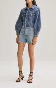Reese Relaxed Cut Off Short in Wonder - The Edition Shop
