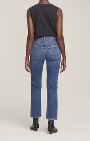 Pinch Waist Jean in Sound