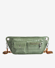 Brillay in Dusty Green Croco - The Edition Shop