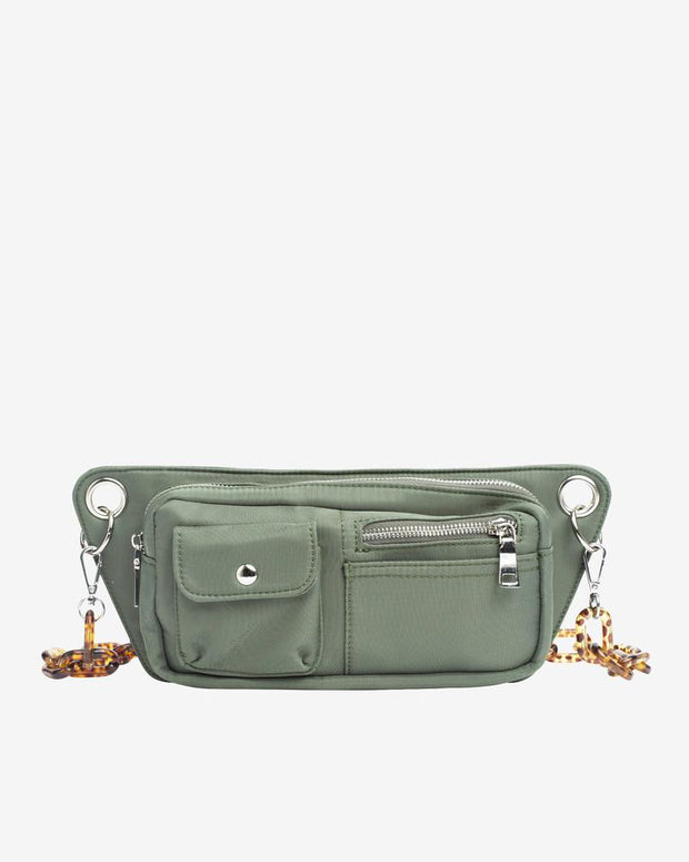 Brillay in Dusty Green Nylon - The Edition Shop