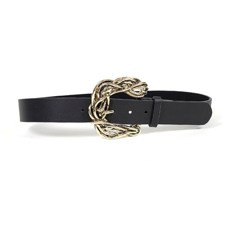 Hadley Black and Gold Belt