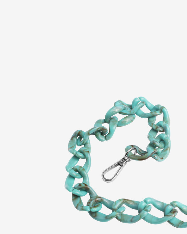 Chain Handle in Dusty Green - The Edition Shop