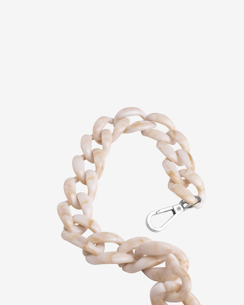 Chain Handle in Beige - The Edition Shop