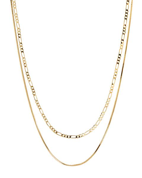 Cecilia Chain Necklace - Gold