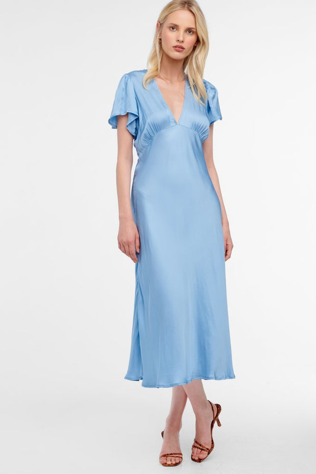 Hermosa Bias Midi Dress