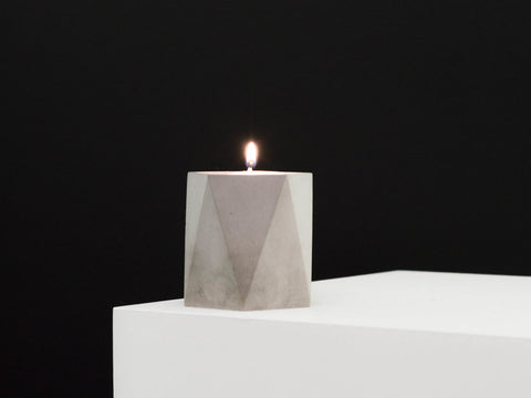Mini Concrete Vessel in Grey - The Edition Shop