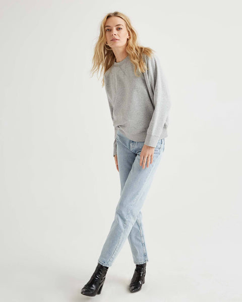Sweatshirt in Light Heather Grey - The Edition Shop