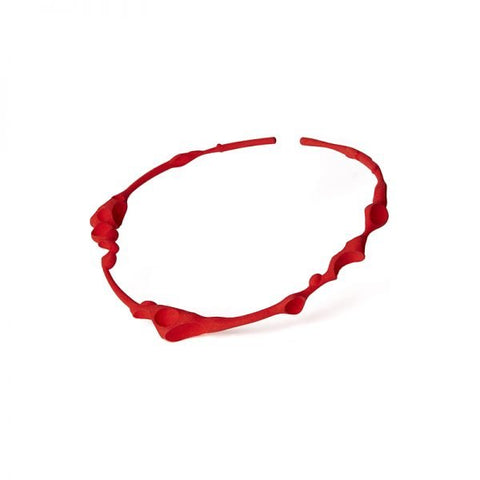 Failé 3D Magnet Choker in Opulent Red