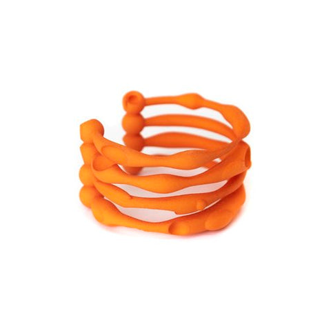 Failé 3D Bangle in Sunset Orange - The Edition Shop