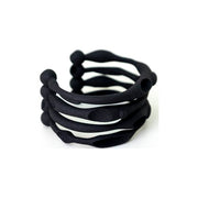 Failé 3D Bangle in Not Sorry Black - The Edition Shop