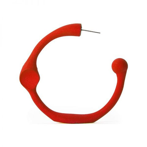 "Failé 3D Magnet Hoop 3"" in Opulent Red - The Edition Shop"