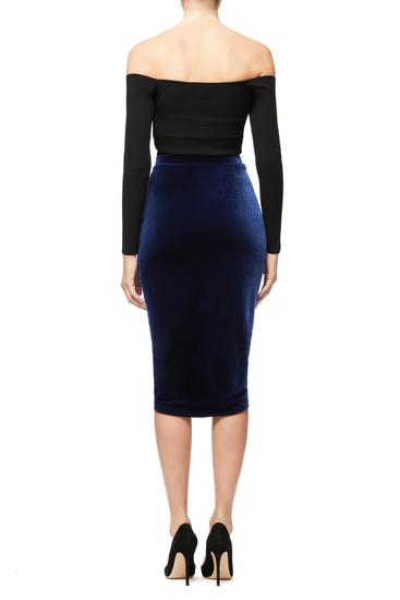 The Luxe Velvet Ruched Skirt