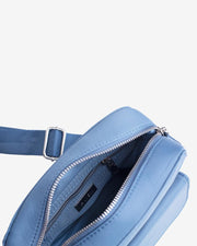 Halli in Dusty Blue Nylon - The Edition Shop