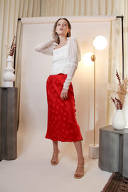Mosaic Bias Midi Skirt - The Edition Shop