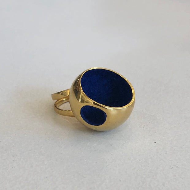 Hurita Maxi Cocktail Ring in 14k Gold