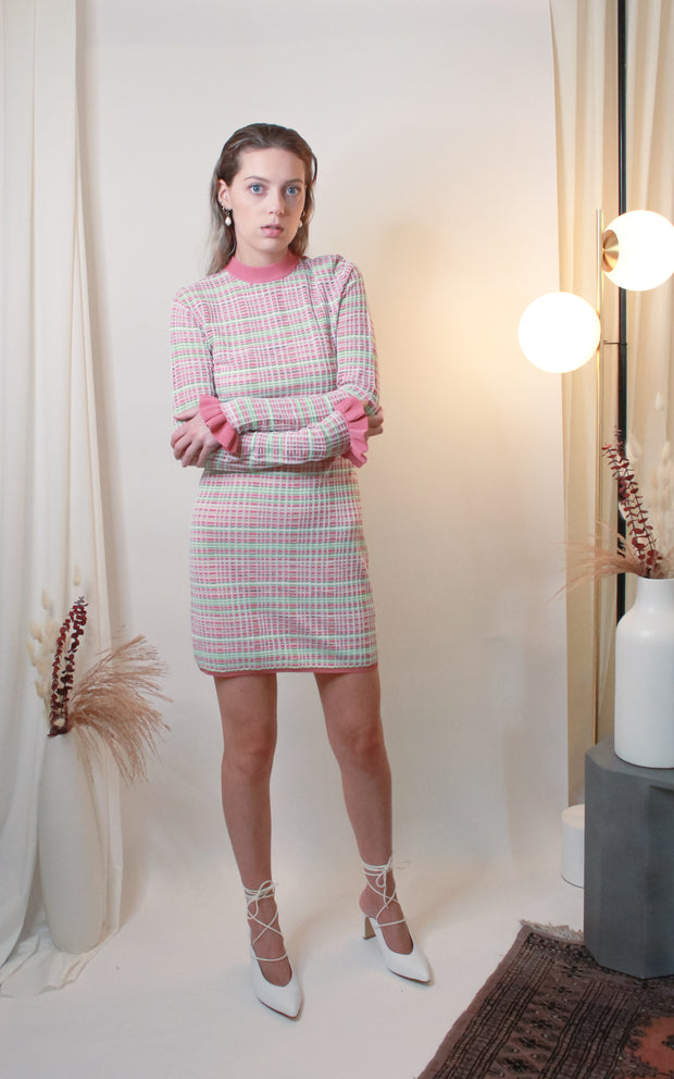 Luca Knit Mini Dress - The Edition Shop