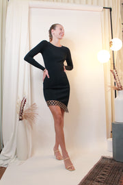 Peepin' Asymmetrical Dress - The Edition Shop