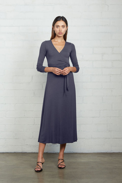 Jersey Mid Length Harlow Dress