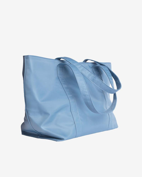 Juna in Blue Nylon - The Edition Shop