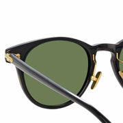 Linear 25 C7 D-Frame Sunglasses in Black Frame