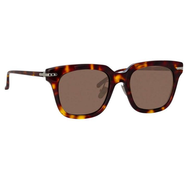 Empire D-Frame Sunglasses in Tortoiseshell - The Edition Shop