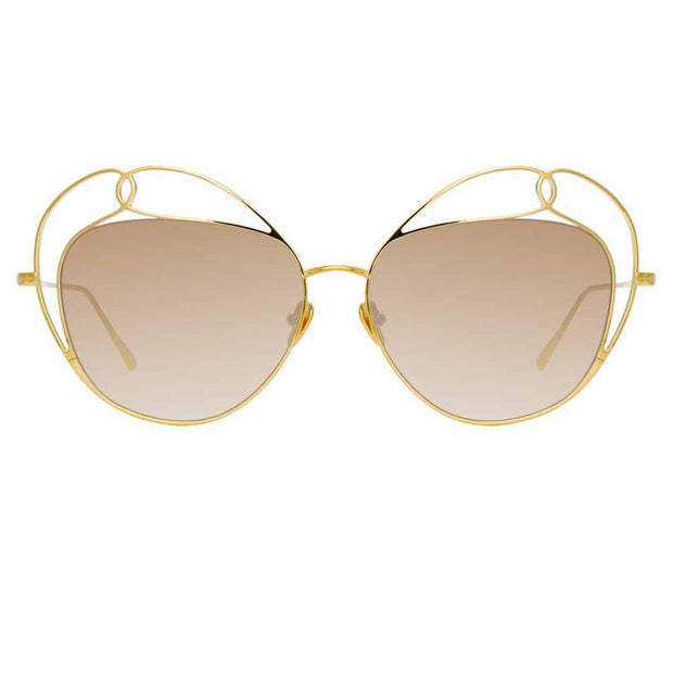 853 C4 Special Sunglasses in Gold Frame - The Edition Shop